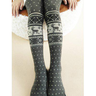 Skinny Elk Girls Christmas Leggings