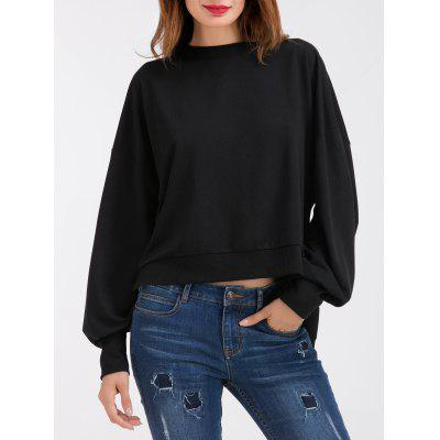 Bow Tie High Low Women's Oversized Sweatshirt