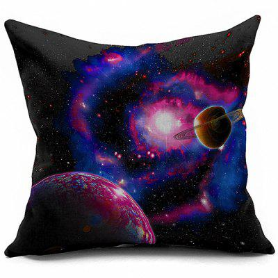 Galaxy Universe Space Linen Seat Cushion Pillowcase