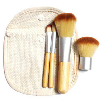 4 Pcs Facial Makeup Brushes Kit