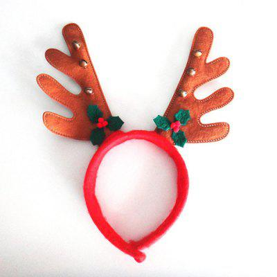 Christmas Party Supplies Hair Band Antlers Head Hoop Buckle Cartoon