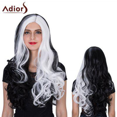 Adiors Long Colormix Side Parting Wavy Film Character Synthetic Wig