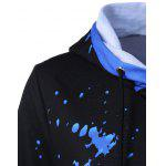Splatter Paint Drawstring Hoodie deal