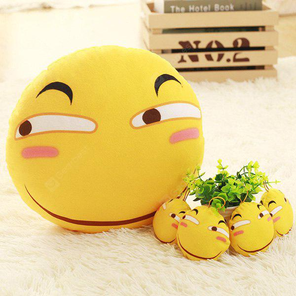 Kids Plush Toy Decorative Emoticon Pillow