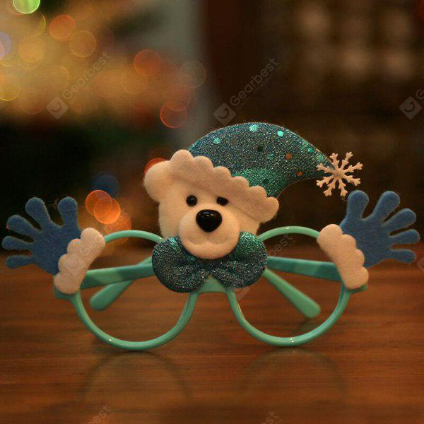 Christmas Supplies Cartoon Bear Glasses Frame