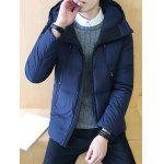 cheap Zipper Design Hooded Puffer Jacket