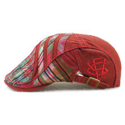 Plaid Stripy Cabbie Newsboy Cap with Sewing ThreadMens Hats<br>Plaid Stripy Cabbie Newsboy Cap with Sewing Thread<br><br>Circumference (CM): 57CM<br>Gender: For Men<br>Group: Adult<br>Hat Type: Newsboy Caps<br>Material: Polyester<br>Package Contents: 1 x Hat<br>Pattern Type: Plaid<br>Style: Fashion<br>Weight: 0.200kg