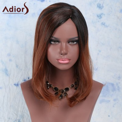 Fluffy Side Bang High Temperature Fiber Women's Wig