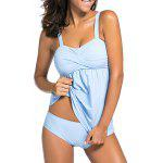Ensemble push-up Twist Tankini - NUAGEUX