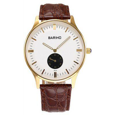 Quartz Artificial Leather Vintage Watch