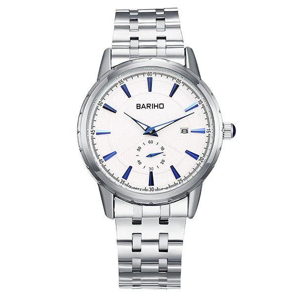 Stainless Steel Analog Watch