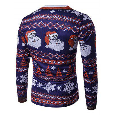 Crew Neck 3D Father Christmas and Snowflake Print T-ShirtMens Long Sleeves Tees<br>Crew Neck 3D Father Christmas and Snowflake Print T-Shirt<br><br>Collar: Crew Neck<br>Material: Cotton, Polyester<br>Package Contents: 1 x T-Shirt<br>Pattern Type: Print<br>Season: Fall, Winter<br>Sleeve Length: Full<br>Style: Fashion<br>Weight: 0.3500kg