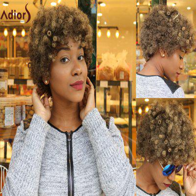 Buy COLORMIX Adiors Short Afro Curly Colormix Synthetic Wig for $17.78 in GearBest store
