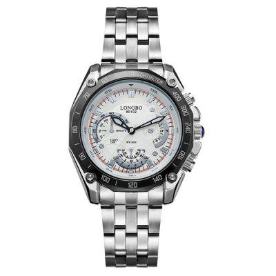 Waterproof Metal Tachymeter Watch