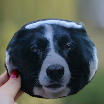 3D Dog Print Coin Purse