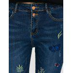 High Waisted Pencil Jeans for Ladies - BLUE