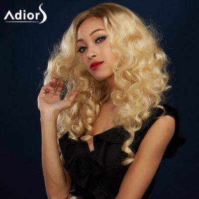 Buy COLORMIX Adiors Long Colormix Side Parting Shaggy Wavy Synthetic Wig for $19.26 in GearBest store