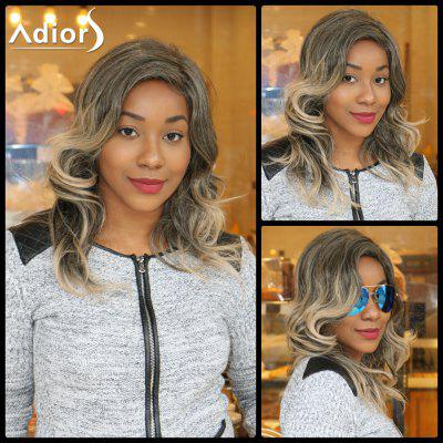 Buy COLORMIX Adiors Long Colormix Side Parting Fluffy Wavy Synthetic Wig for $15.53 in GearBest store