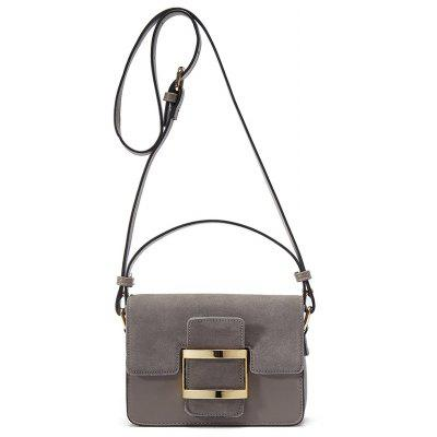 Buckle Belt Vintage Crossbody Bag