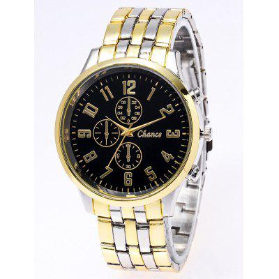 Stainless Steel Business Quartz Watch