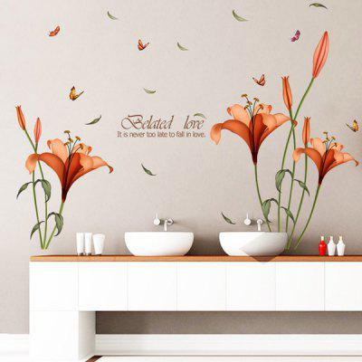 0%OFF Removable Butterfly Flower Wall Stickers For Bedrooms Part 58