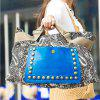 Ethnic Style Rivets and Splice Design Women's Tote Bag deal