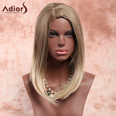 Buy COLORMIX Adiors Medium Side Parting Straight Bob Colormix Synthetic Wig for $15.85 in GearBest store
