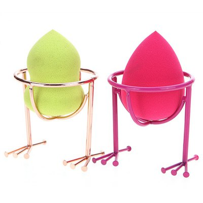 2 Pcs Makeup Sponge Holder Drying Stand