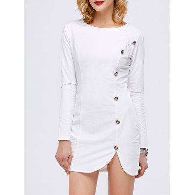 Fitted Short Long Sleeve Dress