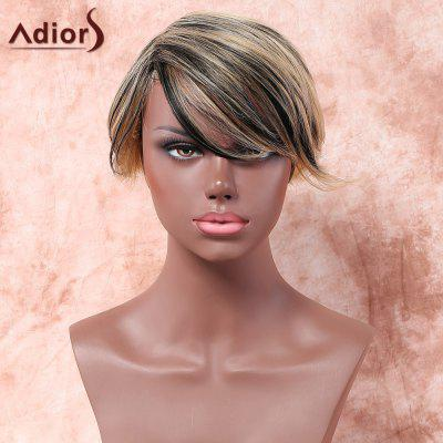 Buy COLORMIX Adiors Short Side Parting Colormix Straight Synthetic Wig for $12.91 in GearBest store
