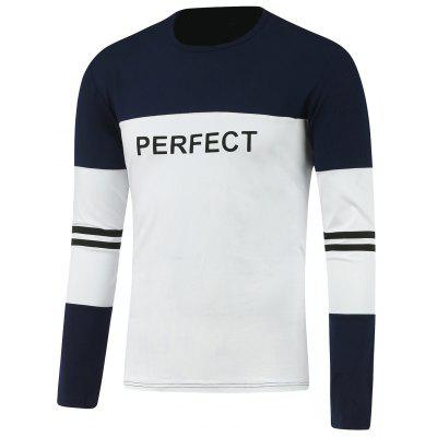Contrast Color Perfect Graphic T-Shirt