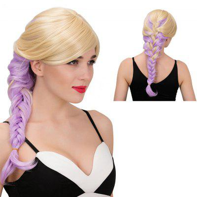 Buy COLORMIX Adiors Long Side Parting Colormix Side Braid Synthetic Wig for $22.35 in GearBest store