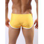 Contrast Trim Drawstring Swimming Trunks for sale