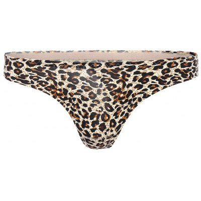 Low Rise Leopard Panties