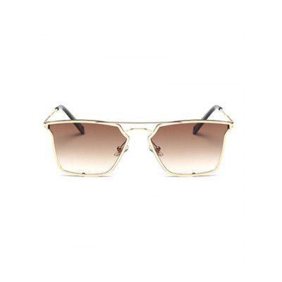 Quadrate Irregular Double Rims SunglassesStylish Sunglasses<br>Quadrate Irregular Double Rims Sunglasses<br><br>Frame Color: Multi-color<br>Frame Length: 15.6CM<br>Frame material: Other<br>Gender: For Women<br>Group: Adult<br>Lens height: 4.6CM<br>Lens material: Resin<br>Lens width: 5.6CM<br>Nose: 2.8CM<br>Package Contents: 1 x Sunglasses<br>Style: Fashion<br>Temple Length: 14.5CM<br>Weight: 0.0700kg