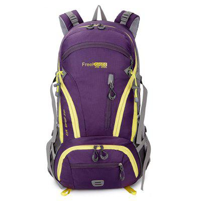 Multi Zips Nylon 45L Mountaineering BackpackDuffel Bags<br>Multi Zips Nylon 45L Mountaineering Backpack<br><br>Bag Capacity: 45L<br>Closure Type: Zipper<br>Features: Laptop Bag, Breathable, Waterproof<br>For: Camping, Climbing, Hiking, Traveling<br>Handbag Size: Large(&gt;50cm)<br>Material: Nylon<br>Package Contents: 1 x Backpack<br>Size(L*W*H)(CM): 34*16*55<br>Type: Backpack<br>Weight: 1.500kg