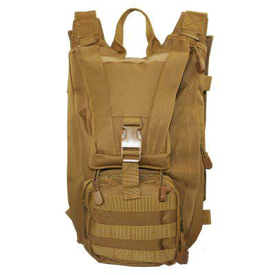 1000D Multifunctional Outdoor Waterproof Tactical BackpackDuffel Bags<br>1000D Multifunctional Outdoor Waterproof Tactical Backpack<br><br>Closure Type: Zipper<br>Features: Waterproof<br>For: Sports, Hunting, Hiking, Cycling, Climbing, Camping, Tactical<br>Material: Nylon<br>Package Contents: 1 x Tactical Backpack<br>Size(L*W*H)(CM): 20*15*38<br>Type: Backpack<br>Weight: 1.2000kg