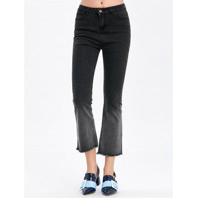 Ombre Boot Cut Jeans