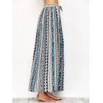 Printed Long Boho Skirt - COLORMIX