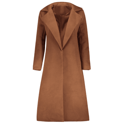 Lapel Collar Duster Coat