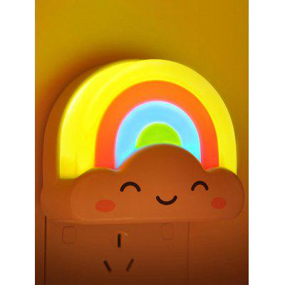 Buy COLORFUL Creative Mini Voice Control Rainbow LED Night Light for $6.40 in GearBest store