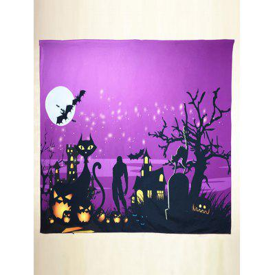 Halloween Day Night Square Scarf