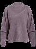 Plus Size Choker Sweater - LIGHT PURPLE