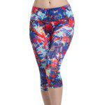 Colormix Chic vita alta Sport Leggings per le donne - COLORI MISTI