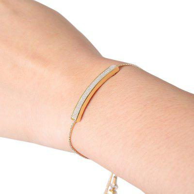 Cute Rhinestone Geometric Bracelet For Women