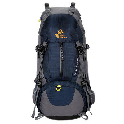 FreeKnight Nylon 50L Mountaineering Backpack with Rain CoverDuffel Bags<br>FreeKnight Nylon 50L Mountaineering Backpack with Rain Cover<br><br>Bag Capacity: 50L<br>Closure Type: Zipper<br>For: Hiking, Camping, Casual, Climbing, Cycling<br>Handbag Size: Large(&gt;50cm)<br>Material: Nylon, Polyester<br>Package Contents: 1 x Backpack<br>Size(L*W*H)(CM): 67*23*28CM<br>Type: Backpack<br>Weight: 1.7500kg