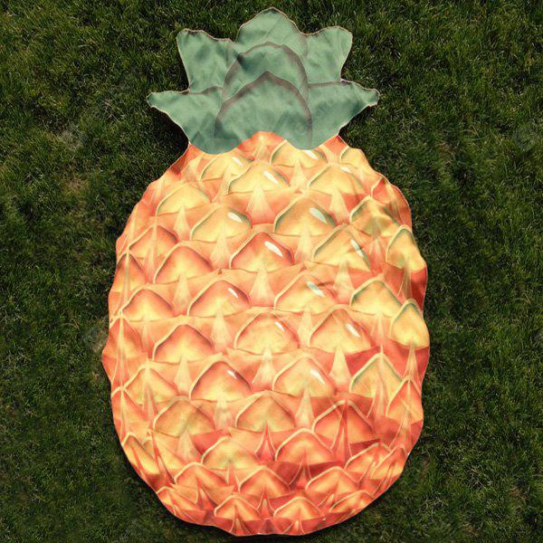 Pineapple Shape Polyester Beach Throw