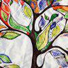 Colorful Life Tree Round Beach Throw - COLORFUL