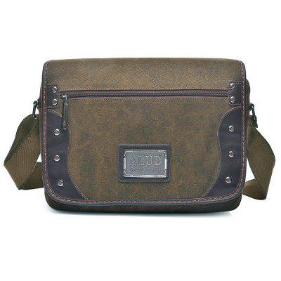 Canvas Cross Body Messenger Bag