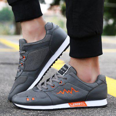 Mesh Colour Block Athletic Shoes